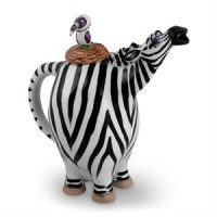 Zebra Tea Pot