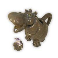 Hippo Tea Pot