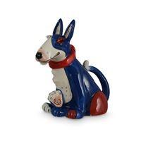 Blue Terrier Teapot