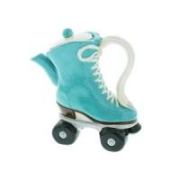 Roller Skates Teapot ( Green )