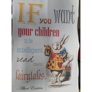 If You Want Your Children To Be Intelligent Tea Towel