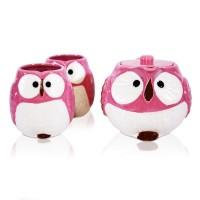 Lucky Owl PinkTea Set