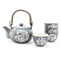 Blue Rose Tea Set