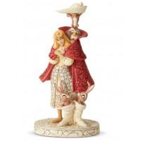 Aurora as Briar Rose White Woodland Playful Pantomime