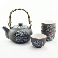 Blue Botan Tea Set