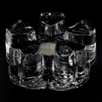 Formosa Crystal Glass Warmer