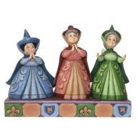Auroras Three Fairy Guardians Figurine