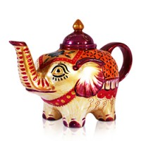 Elephant - Tea Pot (Gold)