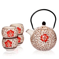 Hibiscus - Tea Set