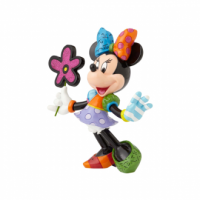 Minnie Mouse with Flowers ( Large )