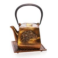 Namiko Bronze Cast Iron Tea Pot