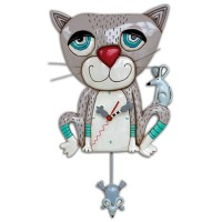 Mouser Cat - Clock