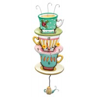 Spot of Tea - Clock