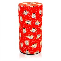 Owl Canister (Red)