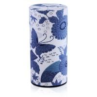 Haru Japanese Orimono Canister (Blue)