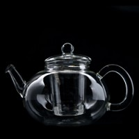 2000ml Glass Tea Pot